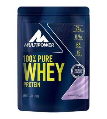 100% PURE WHEY PROTEIN BLUEBERRY 450