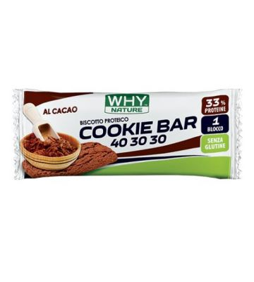 WHYNATURE COOKIE BAR 40 30 30 CACAO