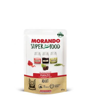 Ms Gatto Adult Mousse Manzo 85 g